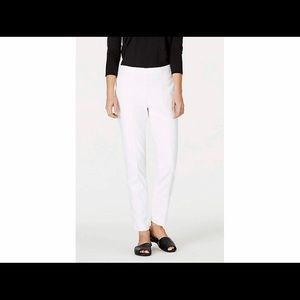 J.Jill Comfort Stretch Cotton Cropped Ankle Pant